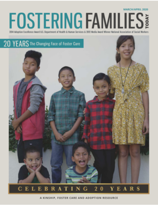 Fostering Families Today March April 2020 cover